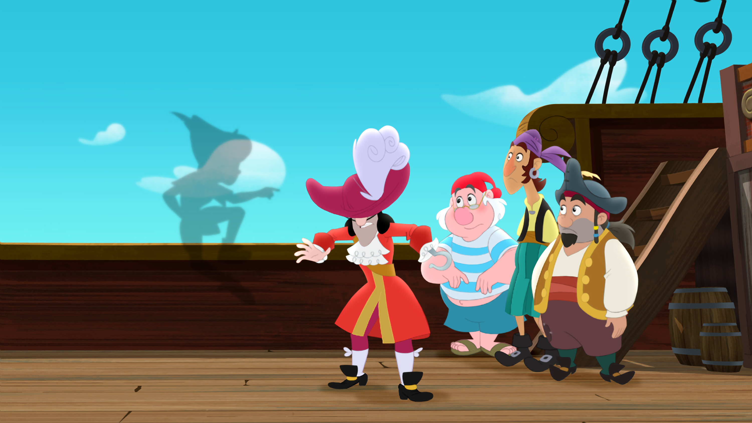 JAKE AND THE NEVER LAND PIRATES Peter Pan Returns The Classic Character Makes His First Ever Appearance In Hit Series For Kids Age 2 7