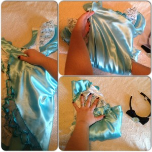 Disney Princess Costume Folded