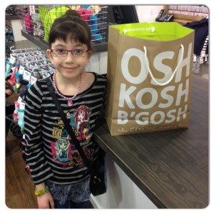 One happy OshKosh B'gosh Customer!