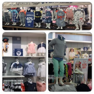 OshKosh B'gosh and Baby B'gosh Spring Display