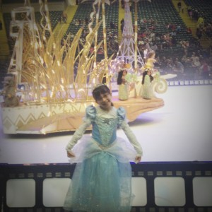 From our last Disney on Ice Experience, our Princess had an amazing time!
